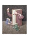 Pulling Strings, 2005 Giclee Print by Jonathan Wolstenholme