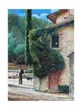 Shepherd, Peralta, Tuscany, 2001 Giclee Print by Trevor Neal