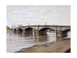 Putney Bridge Giclee Print by Isabel Hutchison