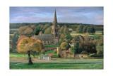 Edensor, Chatsworth Park, Derbyshire, 2009 Giclée-Druck von Trevor Neal