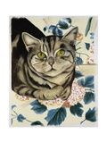 Tabby Cat Giclee Print by Anne Robinson