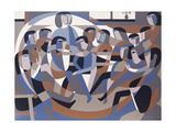 Jordan's Quaker Meeting 2, 1993 Giclee Print by Ron Waddams