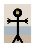 The Son of Man Icon, 2006 Giclee Print by  Thisisnotme