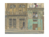 Havana House Front, 2010 Giclee Print by Julian Barrow