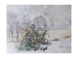 Winter from Our Window, 2009 Giclee Print by Caroline Hervey-Bathurst