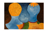 Two Twins But Only One Orange Crown, 2005 Giclee Print by Jan Groneberg