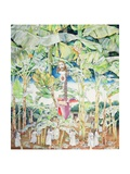 Miraculous Vision of Christ in the Banana Grove, 1989 Giclee Print by James Reeve