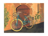 Rose and Bicycle, 1995 Giclee Print by Sarah Gillard