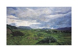 View from Yagul Towards the East, 1996 Giclee Print by Pedro Diego Alvarado