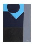 Upwards to Blue, 1999 Giclee Print by George Dannatt