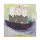 Committee, 2008 Giclee Print by Susan Bower