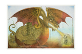 St George and the Dragon, 1979 Giclee Print by Wayne Anderson