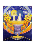 The Coronation of the Virgin Mary and the Glory of All the Saints, 2003 Giclee Print by Elizabeth Wang