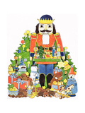 Nutcracker Giclee Print by Christian Kaempf