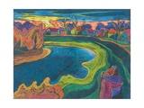 Late Rendezvous, 2006 Giclee Print by Marta Martonfi-Benke
