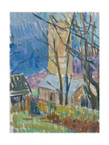 Reverend Hawker's Church at Morwenstow III Giclee Print by Erin Townsend