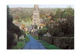 Edensor, Chatsworth Prak, Derbyshire, 2009 Giclee Print by Trevor Neal