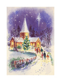 Midnight Mass Giclee Print by Stanley Cooke
