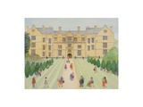 Montacute House Giclee Print by Gillian Lawson