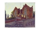 The Old Schools, Harrow Giclee Print by Julian Barrow