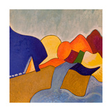 In My Dreaming, Monemvasia Presents Itself Like This, 2006 Giclee Print by Jan Groneberg