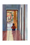 Through the Doorway, 2005 Giclee Print by Tilly Willis