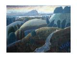 Evening Walk, 2005 Giclee Print by Ian Bliss