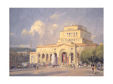 Evening, Republic Square, Yerevan Giclee Print by Trevor Chamberlain