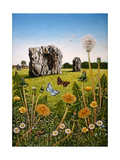 Avebury, 1983 Giclee Print by Frances Broomfield