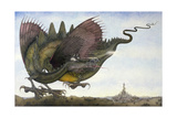 Dragon in Flight, 1979 Giclee Print by Wayne Anderson