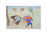 Flight into Egypt, 2005 Giclee Print by Gillian Lawson