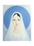 The Virgin Mary, Our Lady of Harpenden, 1993 Giclee Print by Elizabeth Wang