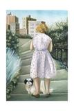 Home, Study Giclee Print by Caroline Jennings