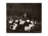 Wilhelm Furtwangler (1886-1954) Conducting Photographic Print by Lotte Meitner-Graf