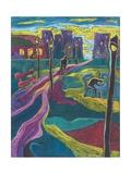Suburbia, 2006 Giclee Print by Marta Martonfi-Benke