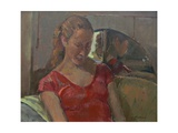 By the Old Mirror, 2009 Giclee Print by Pat Maclaurin