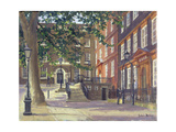 Kings Bench Walk, Inner Temple Giclee Print by Julian Barrow