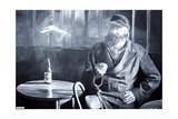 Captain Birdseye, 2008 Giclee Print by Kevin Parrish