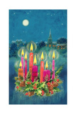 Christmas Candles Giclee Print by Stanley Cooke