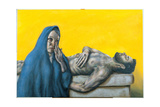 Stations of the Cross XIV: Jesus Is Laid in the Sepulchre, 2008 Giclee Print by Chris Gollon