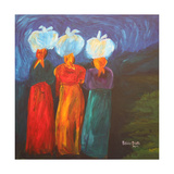 Three Sisters, 2007 Giclee Print by Patricia Brintle