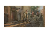 Getting Ready for the Bull Run, 2009 Giclee Print by Pat Maclaurin