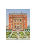 West Clandon, Surrey Giclee Print by Gillian Lawson