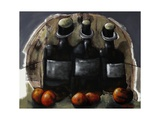 Still Life with Wine and Fruit, 2010 Giclee Print by Chris Gollon