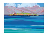 Sea View Galaxidhi, 2010 Giclee Print by Sarah Gillard