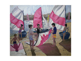 Sailboat, Royan, France, 1992 Giclee Print by Andrew Macara