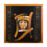The Assyrian 'Mona Lisa' Recreated, 2006 Giclee Print by Firyal Al-Adhamy