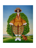 The New Vestments (Ivor Cutler as Character in Edward Lear Poem), 1994 Giclee Print by Frances Broomfield