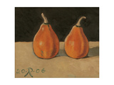 Two Orange Pumpkins, 2006 Giclee Print by Raimonda Kasparaviciene Jatkeviciute