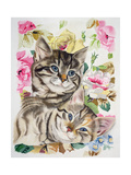 Two Kittens Giclee Print by Anne Robinson